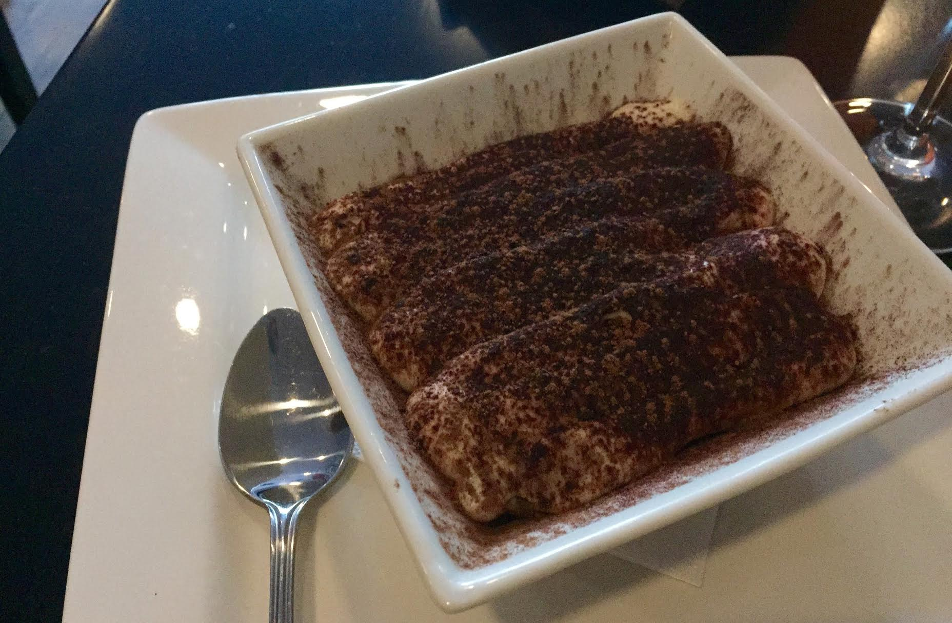 Housemade tiramisu. Photo by Anne DesBrisay