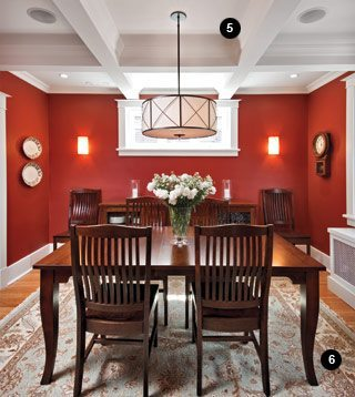 Great Spaces: Maureen Coates' modernized Arts and Crafts home in the Glebe (dining area)