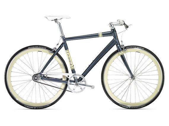 Trek's 2011 urban single-speed (grey-blue)