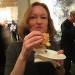 Ottawa Magazine's editor-in-chief enjoying her eclair velvet