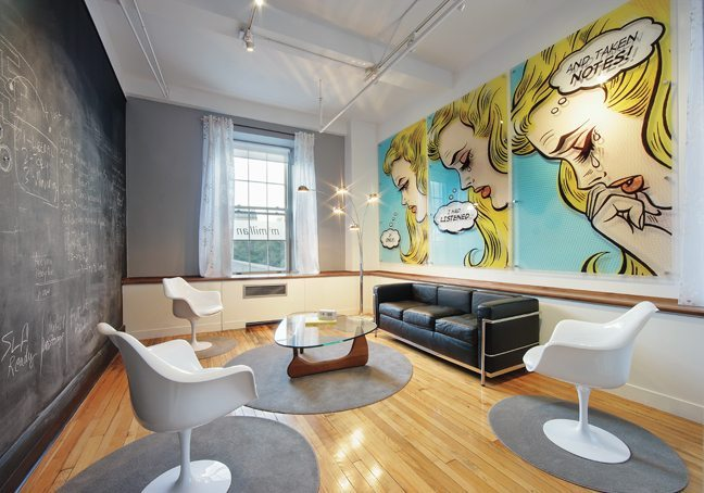 office pop. an office we love mcmillan ad agencyu0027s impressive renovation is inspired by mad men ottawa magazine office pop d