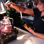 The siphon coffee is an 8-10 minutes process so factor that into your coffee break