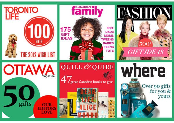 Canadian Christmas Gift Guides