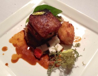 Marysol Foucault's winning dish. Photo by Anne DesBrisay.
