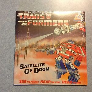 This Transformers LP went for ten bucks on eBay.