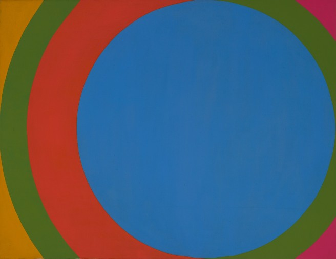 1967 - Untitled (Blue Circle) - Private Collection