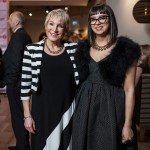 United Way's Barbara Crook with Leah Harper, Nordstrom department manager. Photo by Rémi Thériault