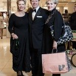 Barry Burke, Rosemary Kemp, and Ruth Kemp take the opportunity to get some shopping done at the new Nordstrom department store. Photo by Rémi Thériault