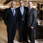 Allan Cooper, Vance Smith, Ted Bourgon looking sharp at the Nordstrom opening gala. Photo by Rémi Thériault