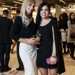 Kira Mandryk and Lauren Orser looking stylish among the designer goods at Nordstrom Ottawa. Photo by Rémi Thériault