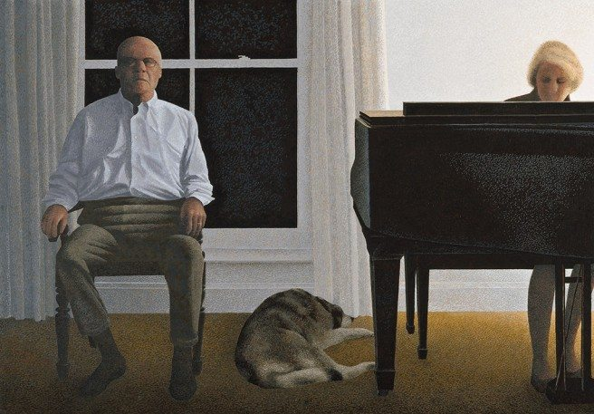 Living Room by Alex Colville