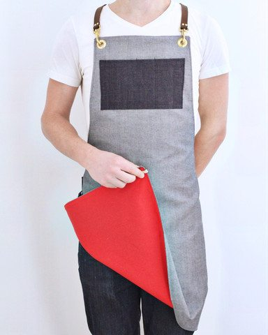 Wove and Grain apron