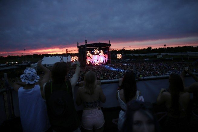 Escapade Electronic Dance Music festival in Ottawa. July 27, 2015.