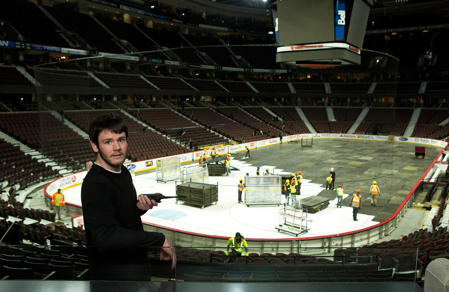 Steve Love, 24, Team Member, Canadian Tire Centre. Photo: Bill Grimshaw