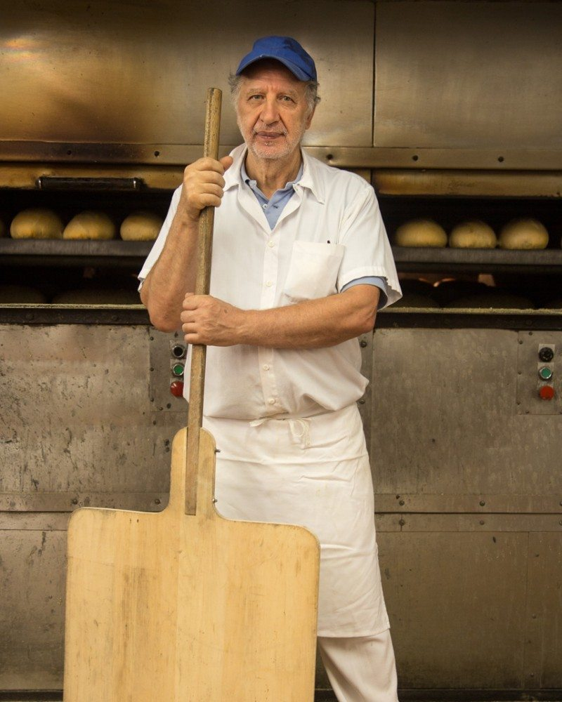 Diego Setka, 62, baker, Rideau Bakery. Photo: David Trattles