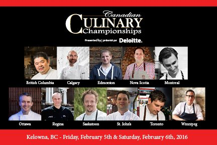 Canadian Culinary Championships, 2016.