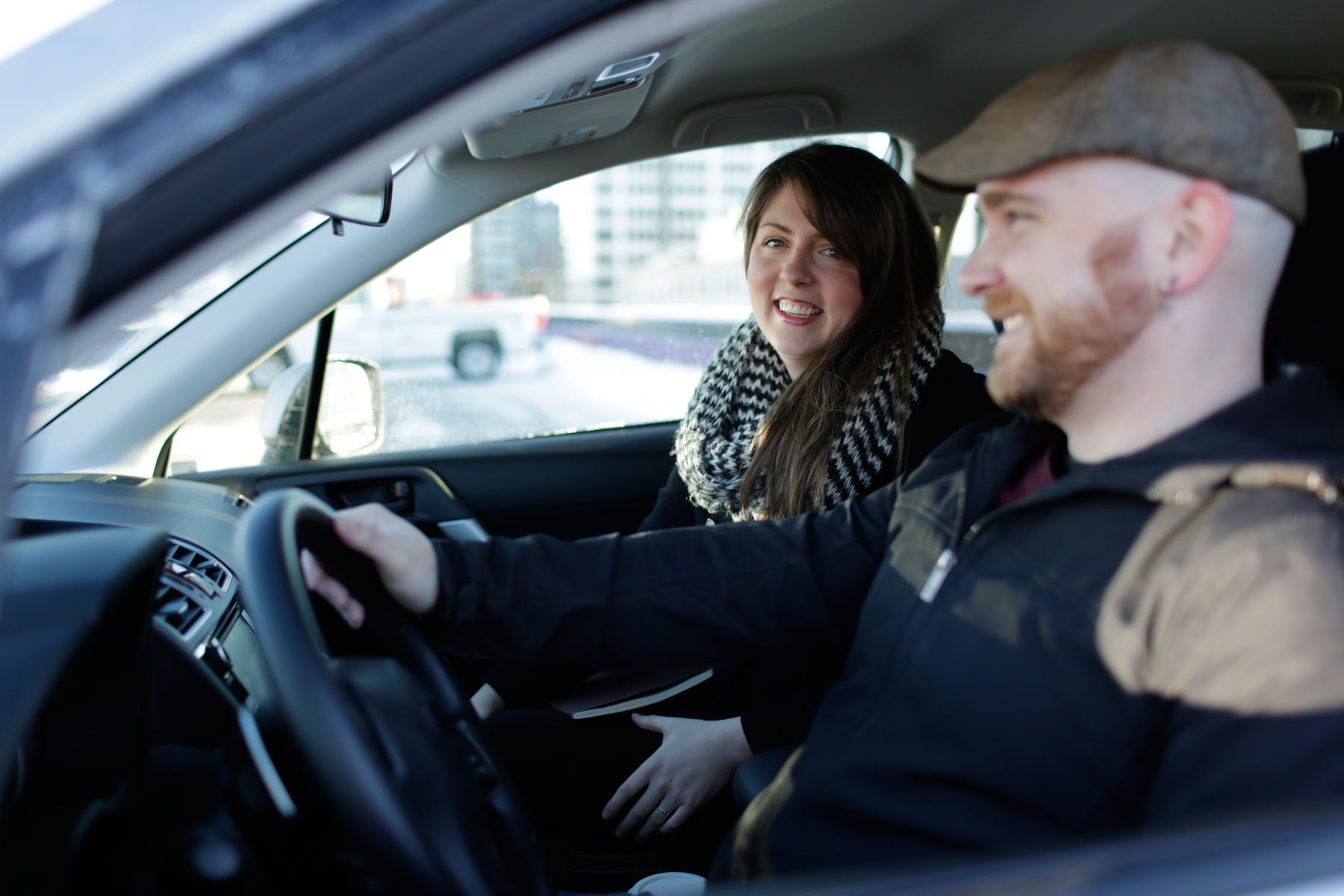 Amy Allen and Tyler Black 'enjoying' one of four commutes most Ottawans drive every day