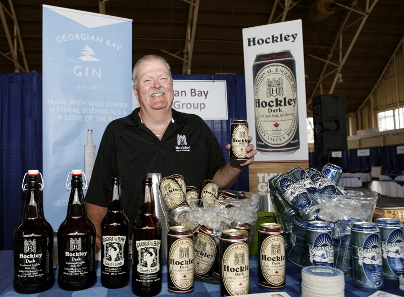 Hockley Brewing Company at Bon Appetit Ottawa 2015, photo by Lois Siegel.