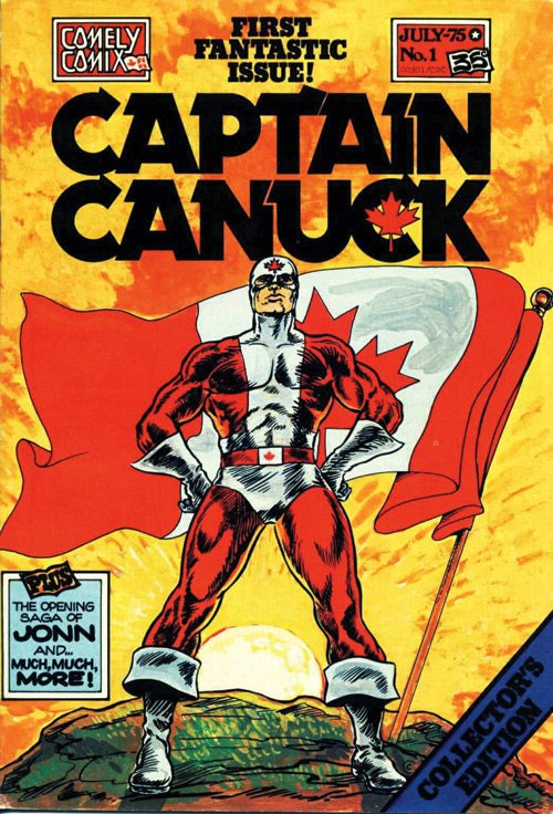 Captain Canuck cover