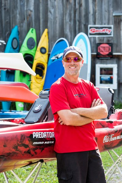 Jason Kirby, paddling pro and owner of Jenda Paddlesports.