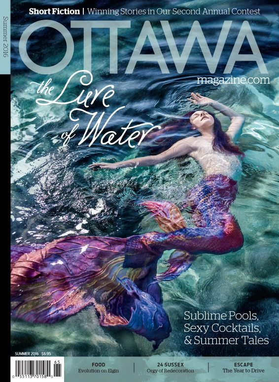 Summer Cover 2016 The Lure of Water Mermaid