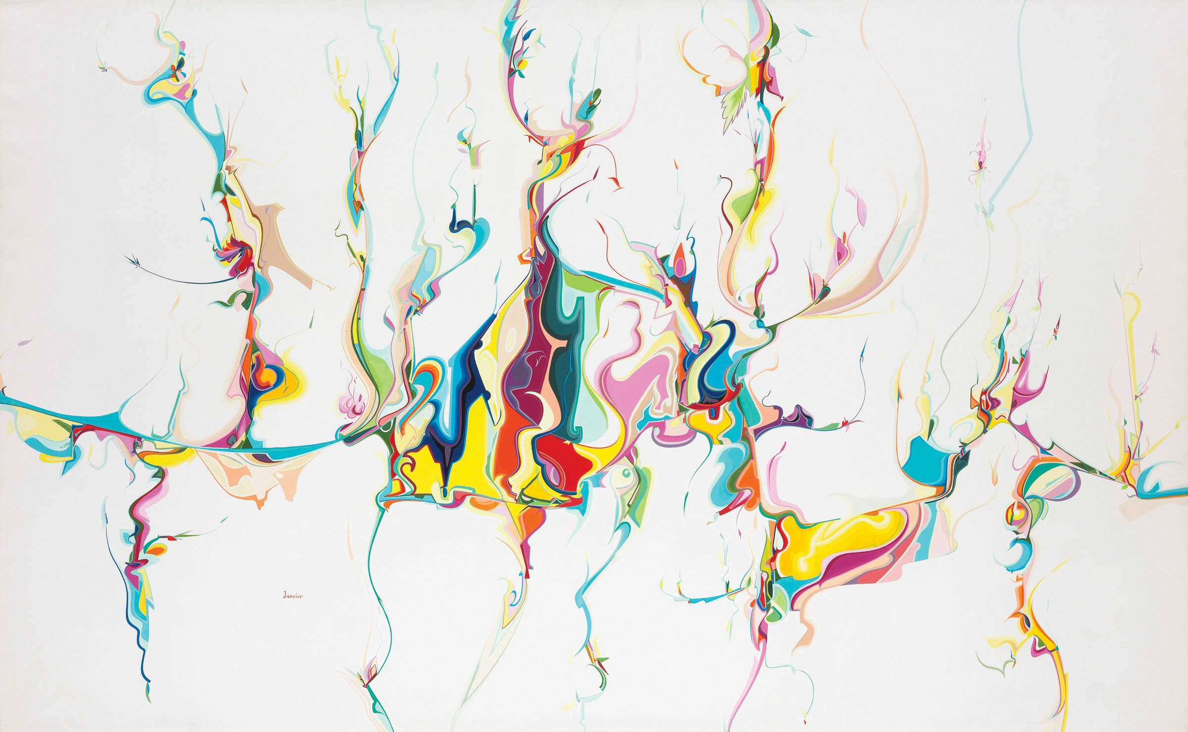Untitled. 1996, Alex Janvier, National Gallery of Canada @NGC