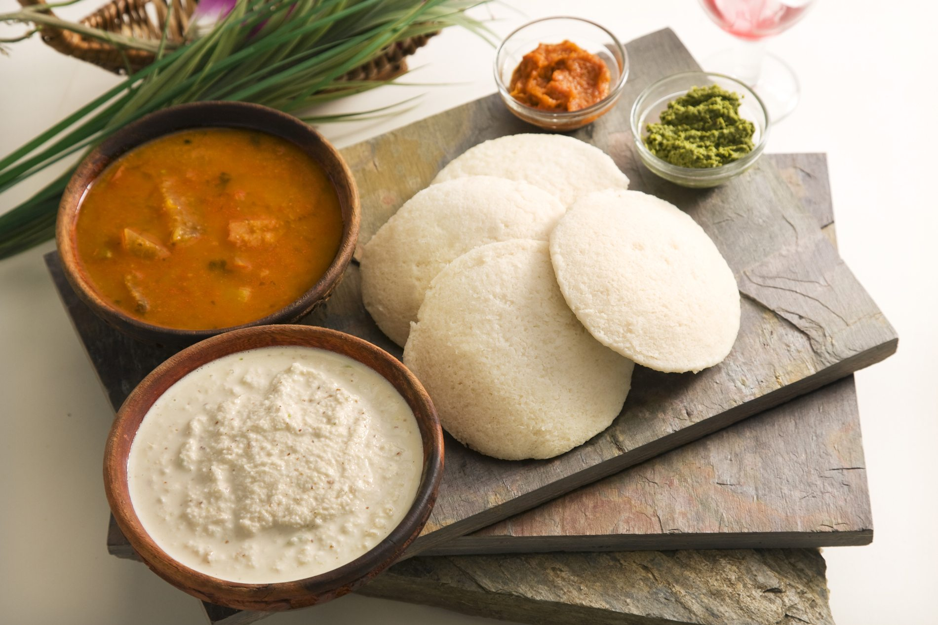 Guests on the culinary tour will see how such dishes as idli sambhar, above, are made