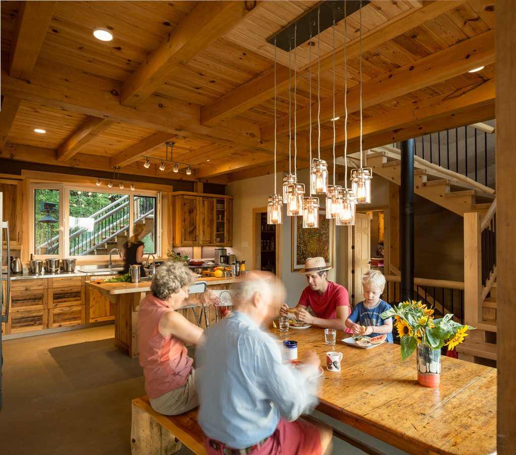 Juniper Farm is both a thriving business and home to three generations of one family