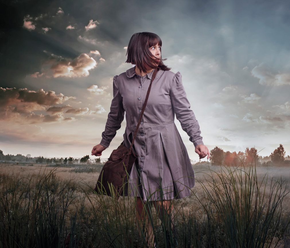 An image promoting Corey Payette's play Children of God. Payette has been heavily involved with the development of an Indigenous theatre department at the NAC