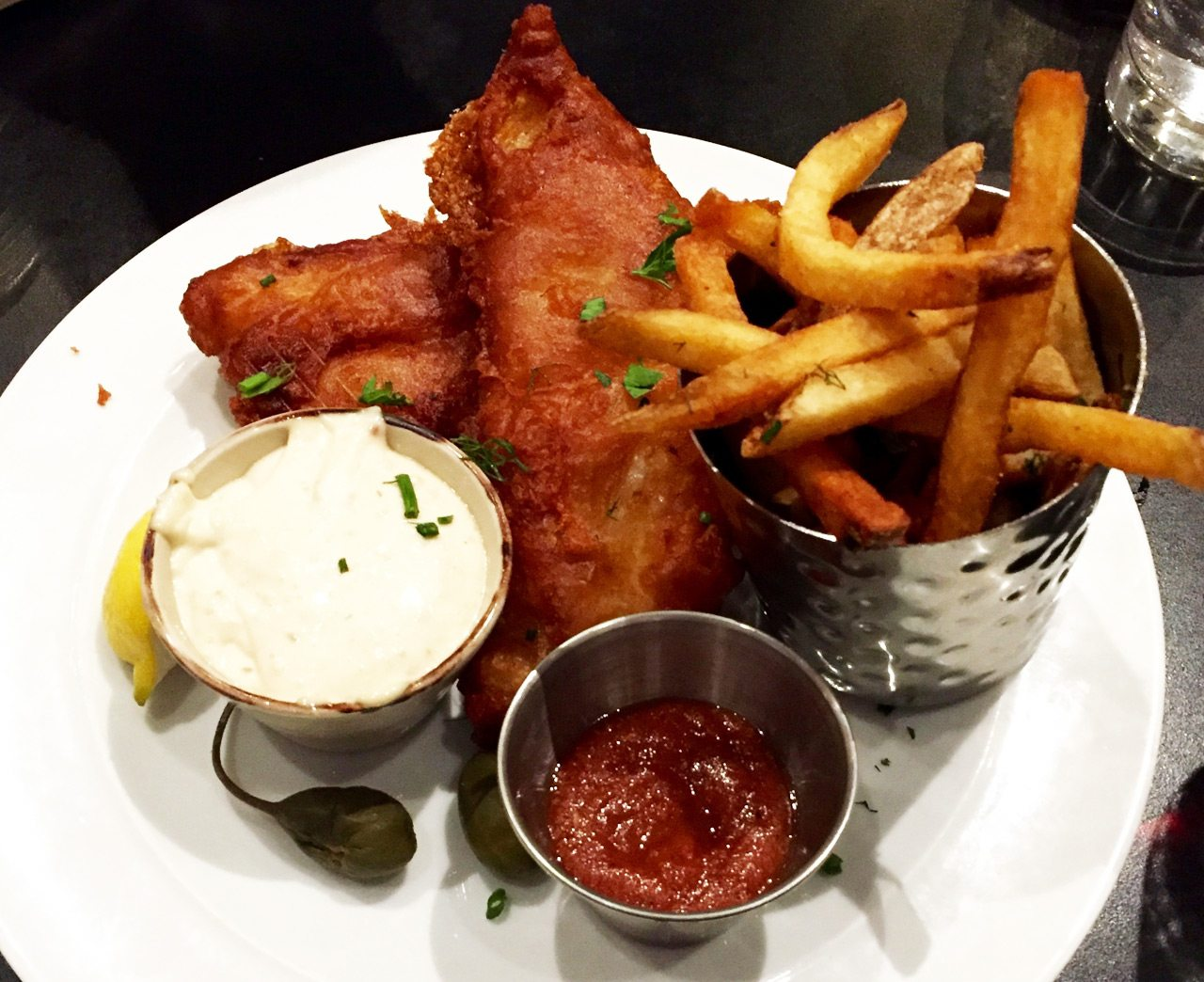 OCCO's fish and chips