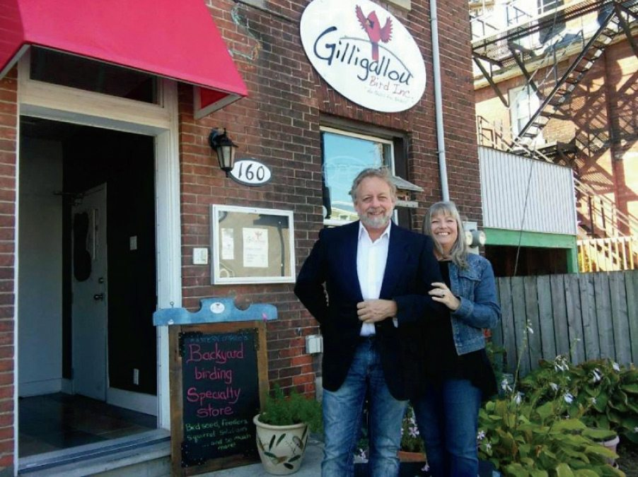 Bob Volks and Louise Beckinsale, owners, Gilligallou Bird Inc.