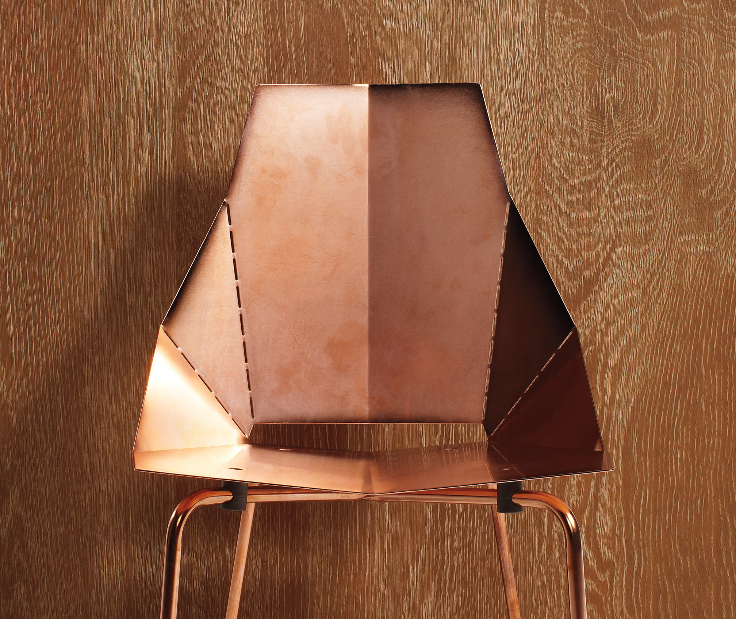Subscribers to A Modern Space's newsletter will be entered in a draw at the end of August for a Blu Dot copper Real Good chair