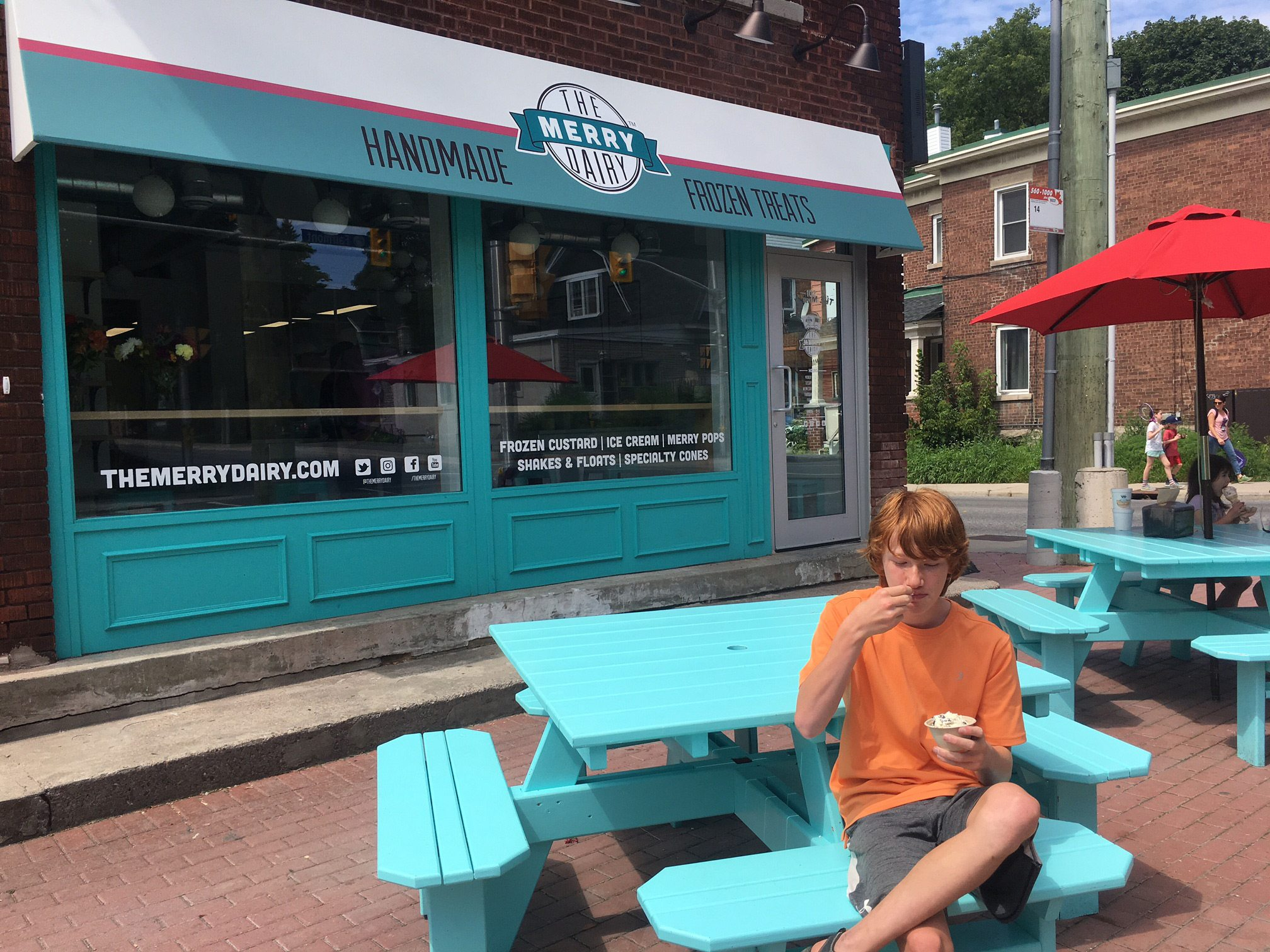 The Merry Dairy shop is now open at the corner of Gladstone and Fairmont