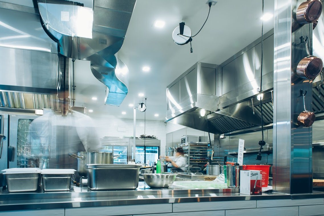 The brand-new kitchen is open, allowing diners to check out the action in the kitchen. Photo: Transparent Kitchen