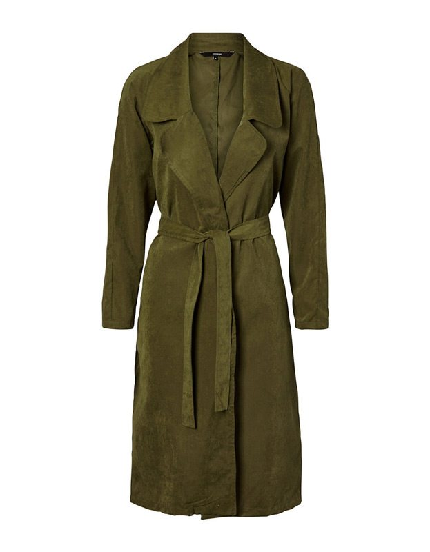 This versatile coat by Vero Moda brings an earthy, edgy style to any workday outfit and transitions well for an evening on the town with its dark green colour and waist-cinching belt. $69. Hudson's Bay, 73 Rideau St. 1200 St. Laurent Blvd., and 100 Bayshore Dr.